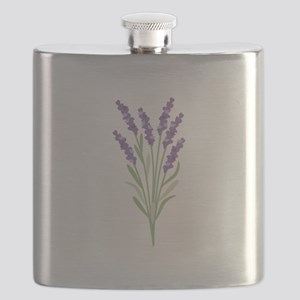 Lavender Flower Flask