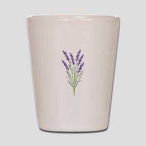 Lavender Flower Shot Glass