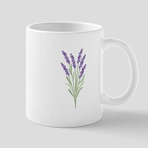 Lavender Flower Mugs