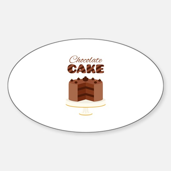 Chocolate Cake Decal