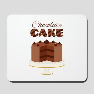 Chocolate Cake Mousepad