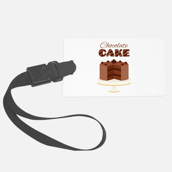 Chocolate Cake Luggage Tag