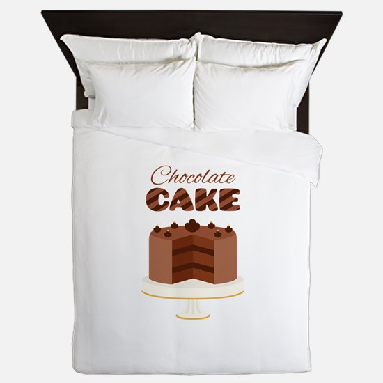 Chocolate Cake Queen Duvet
