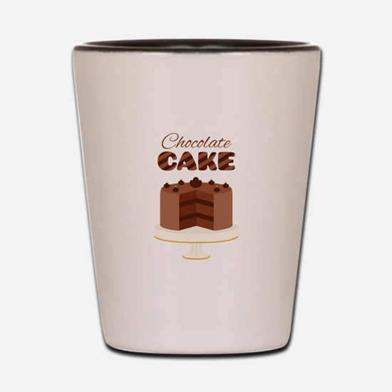 Chocolate Cake Shot Glass