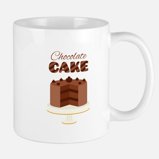 Chocolate Cake Mugs