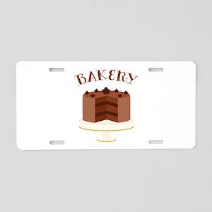Chocolate Cake Bakery Aluminum License Plate