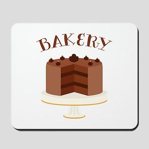 Chocolate Cake Bakery Mousepad