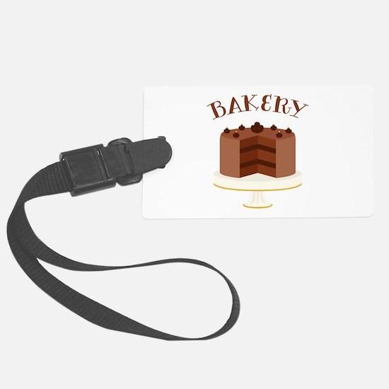 Chocolate Cake Bakery Luggage Tag