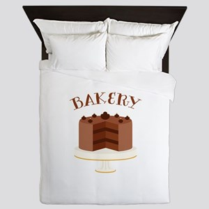 Chocolate Cake Bakery Queen Duvet