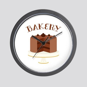 Chocolate Cake Bakery Wall Clock