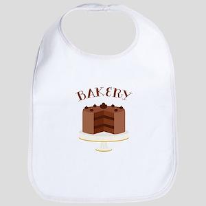Chocolate Cake Bakery Bib