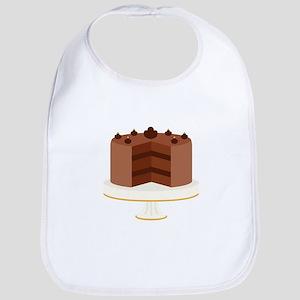 Chocolate Cake Dessert Bib