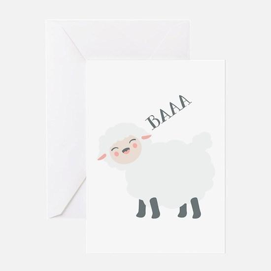 Baaa... Greeting Cards