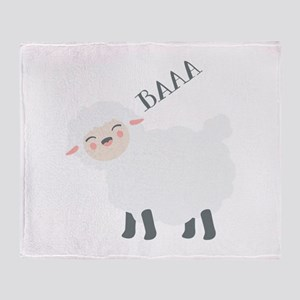 Baaa... Throw Blanket