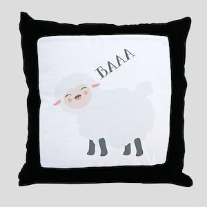 Baaa... Throw Pillow