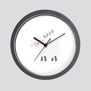 Baaa... Wall Clock