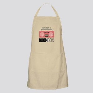 Born from a Boombox Apron