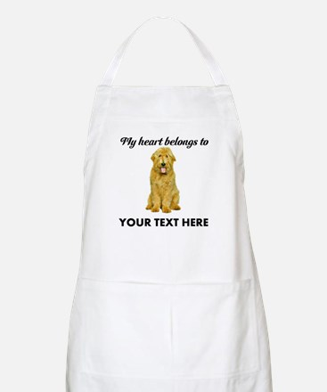 Personalized Goldendoodle Apron