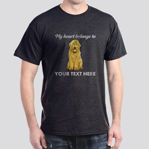 Personalized Goldendoodle Dark T-Shirt