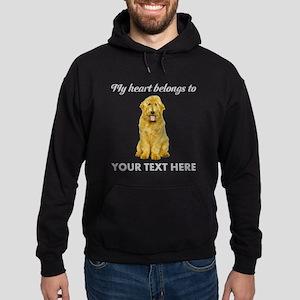 Personalized Goldendoodle Hoodie (dark)
