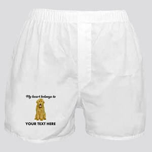 Personalized Goldendoodle Boxer Shorts
