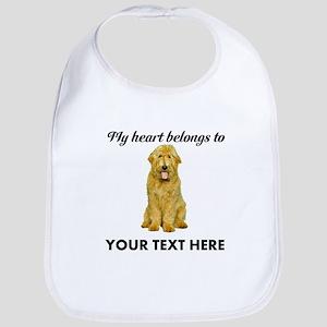 Personalized Goldendoodle Bib
