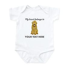 Personalized Goldendoodle Infant Bodysuit