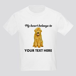 Personalized Goldendoodle Kids Light T-Shirt