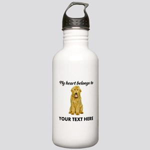 Personalized Goldendoo Stainless Water Bottle 1.0L