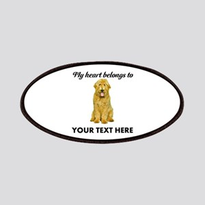 Personalized Goldendoodle Patch