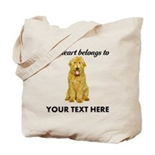 Personalized Goldendoodle Tote Bag