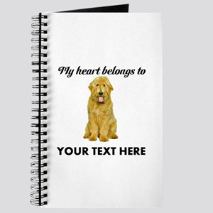 Personalized Goldendoodle Journal