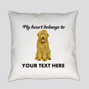 Personalized Goldendoodle Everyday Pillow