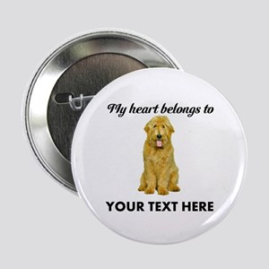 "Personalized Goldendoodle 2.25"" Button"