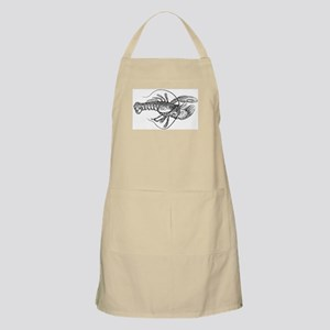 Vintage Lobster illustration Apron