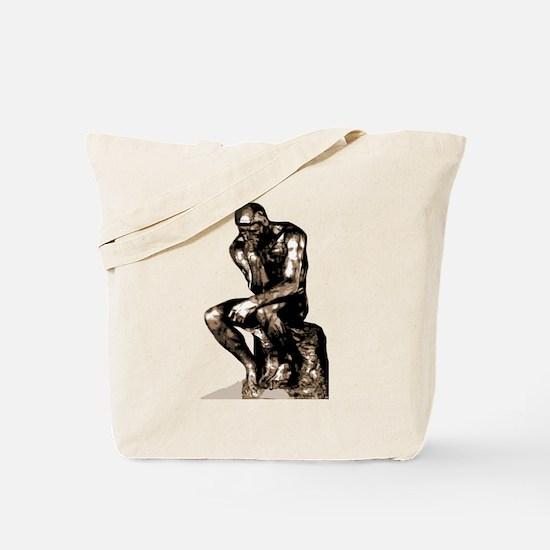Rodin Thinker Remake Tote Bag