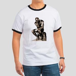 Rodin Thinker Remake Ringer T