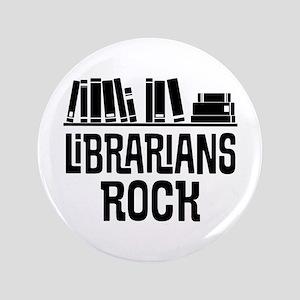 Librarian Book Gift Idea Button