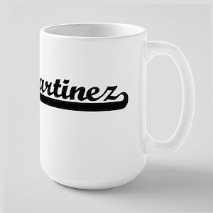 Martinez surname classic retro design Mugs