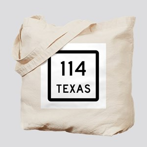 State Highway 114, Texas Tote Bag