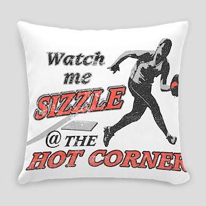 Softball Hot Corner Sizzle! Everyday Pillow