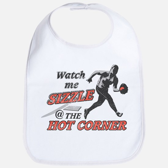 Softball Hot Corner Sizzle! Bib