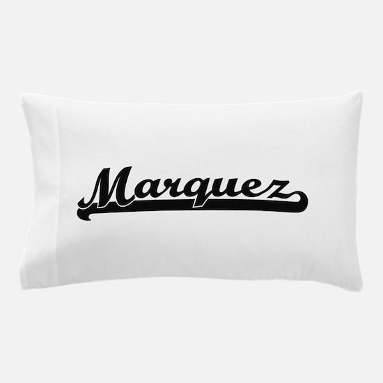 Marquez surname classic retro design Pillow Case