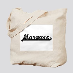 Marquez surname classic retro design Tote Bag