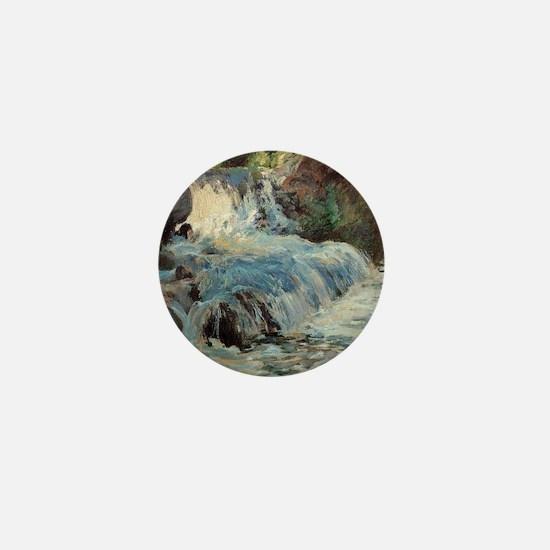Waterfall by Twachtman Mini Button
