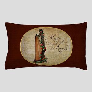 Irish Rose Harp Pillow Case