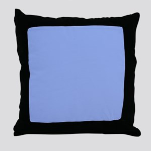 Solid Light Blue Throw Pillow