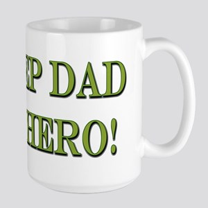 Hero Step Dad Mugs