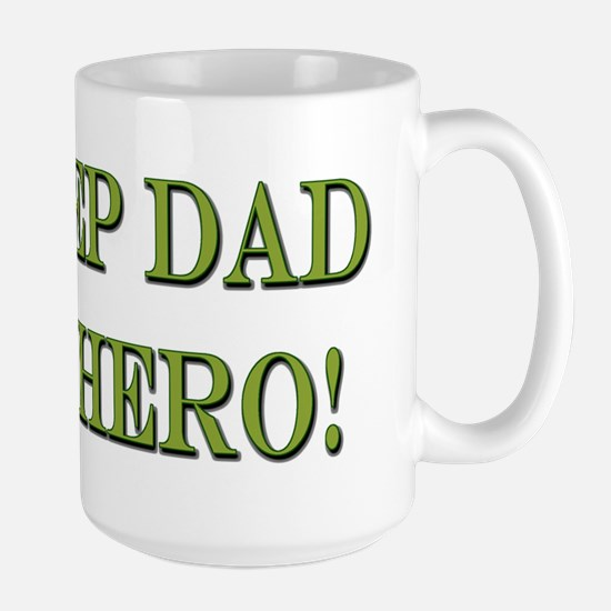 Hero Step Dad Mugs