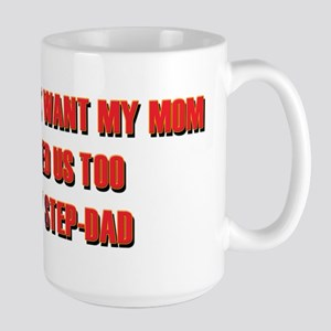 Wanted Us Too Step-Dad Mugs